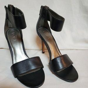 LOFT Black Ankle Strap Shoe 6 #1340